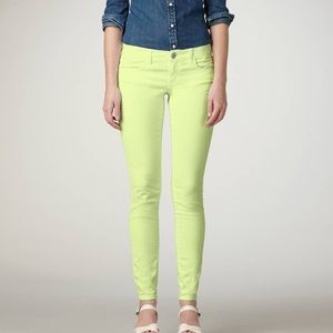 American Eagle Green Stretch Jeggings